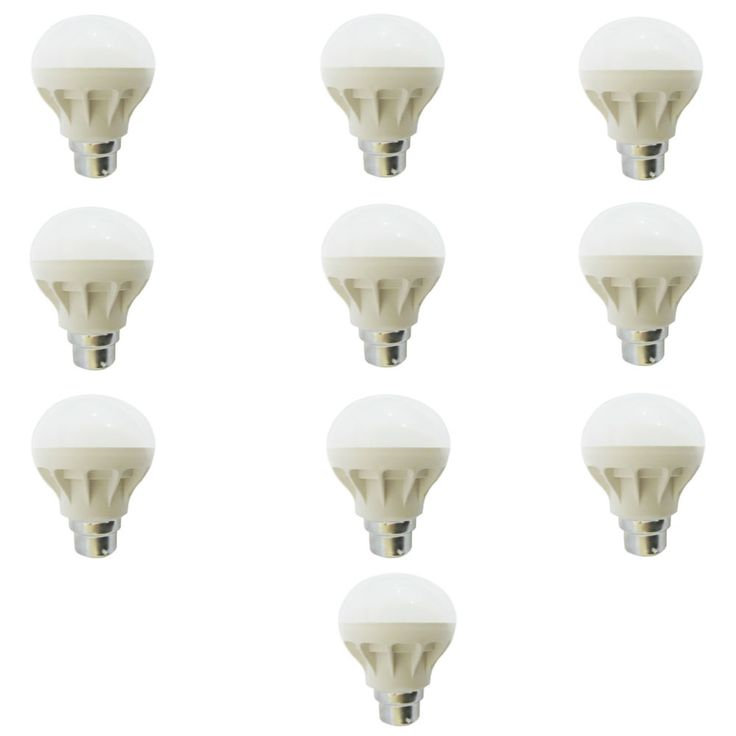 Bright white LED Bulb (Milky White) for normal bulb holder Type B22 Acrylic Body It's time to decorate your balcony/study/living room using this advanced lighting solution. It spreads bright light. Prefect for balcony, study, Living and bedroom. Special LED Bulb suitable for Study, Dining, Living and Drawing rooms etc.