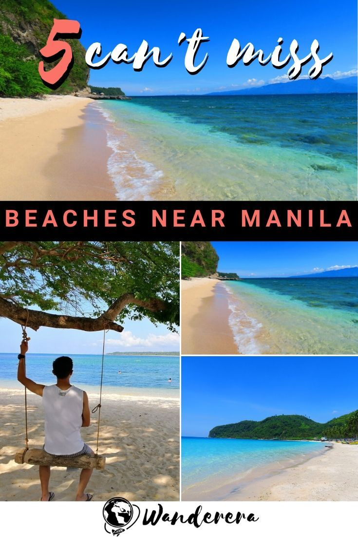 5 Of The Best Beaches Near Manila To