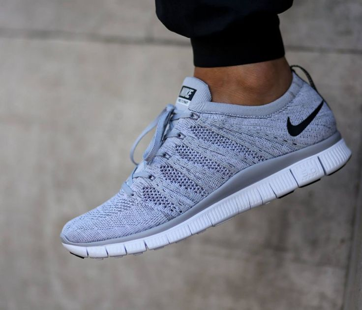 Authentic Nike Flyknit Air Max Cheap sale Wolf Grey Black-Court