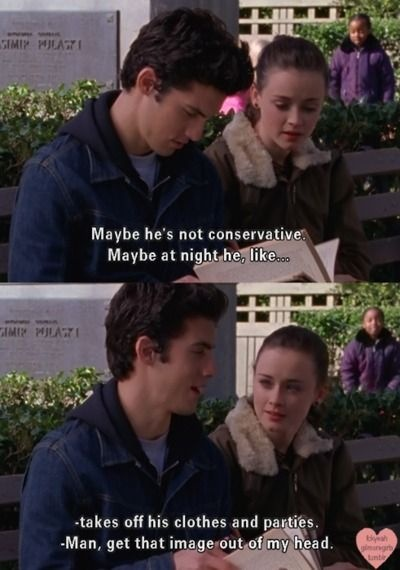 Oh Jess and Rory.... This show was THE BEST.