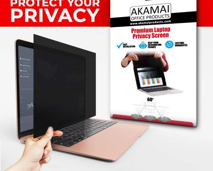 156 inch diagonally measured privacy screen for