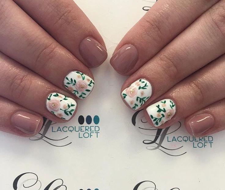 Floral | Design | Accent | Nail