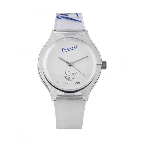La jolie #montre inspirée de la #Colombe de la #Paix par #Picasso  Prix 39 euros TTC
