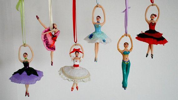 2015 tiana ballerina disney hallmark keepsake ornament