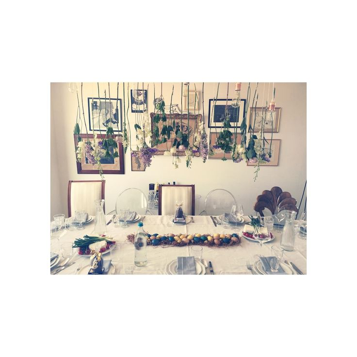 Easter table 2015 at Ioana Dumitrescu, my friend & author of the lovely blog http://eastofkitchen.com