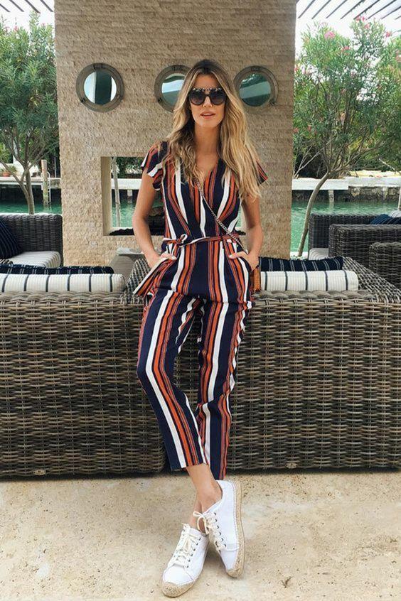 b02292195e7824 combinaison tendance été 2018 | Mode Femmes en 2019 | Tenue, Tenue ...