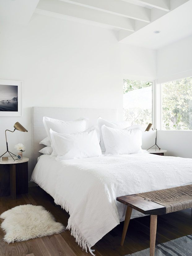 White And Wood Bedroom best 25+ modern white bedrooms ideas on pinterest | grey bedrooms