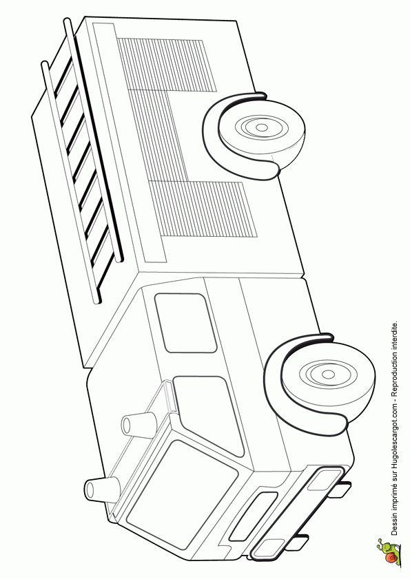 les 86 meilleures images propos de coloriages de camions sur pinterest voitures dessin. Black Bedroom Furniture Sets. Home Design Ideas