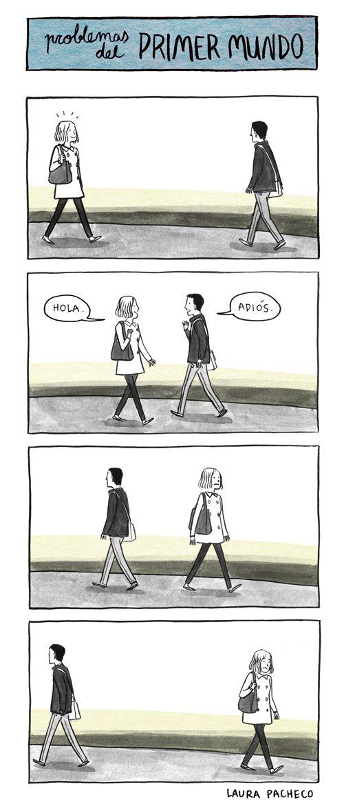 Humor gráfico - Problemas del primer mundo