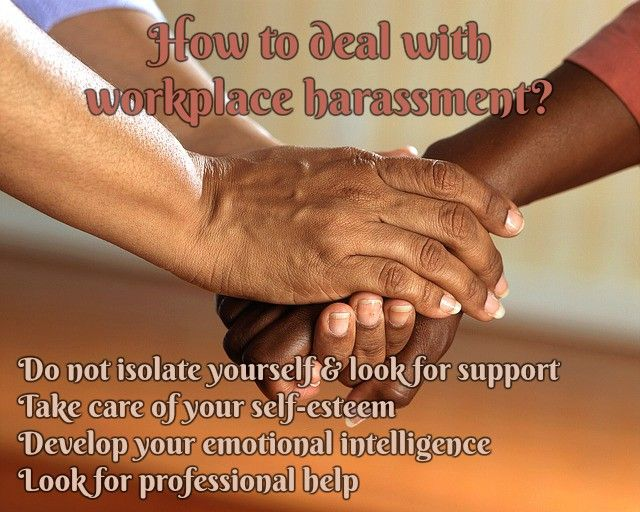 What is workplace harassment and how to deal with it