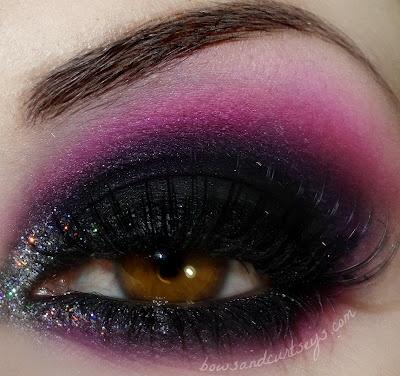 Black, Pink and Sparkles _noeska_