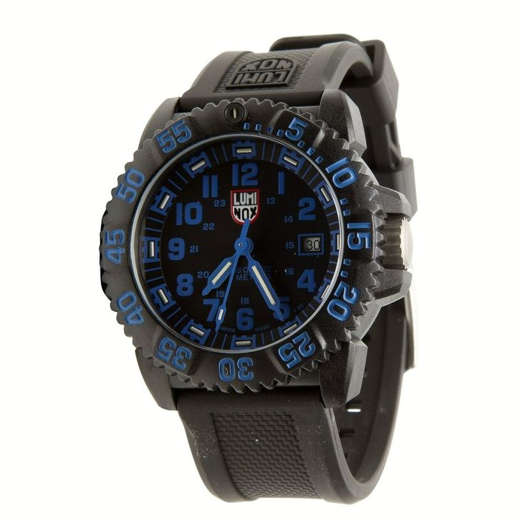 New Luminox Analog Men's 3053 EVO Navy SEAL Rubber Colormark Swiss Quartz Watch #Luminox #Sport