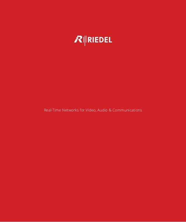 Our new RIEDEL Communications catalogue (autumn 2015) is online now. #Riedel #RiedelCommunications