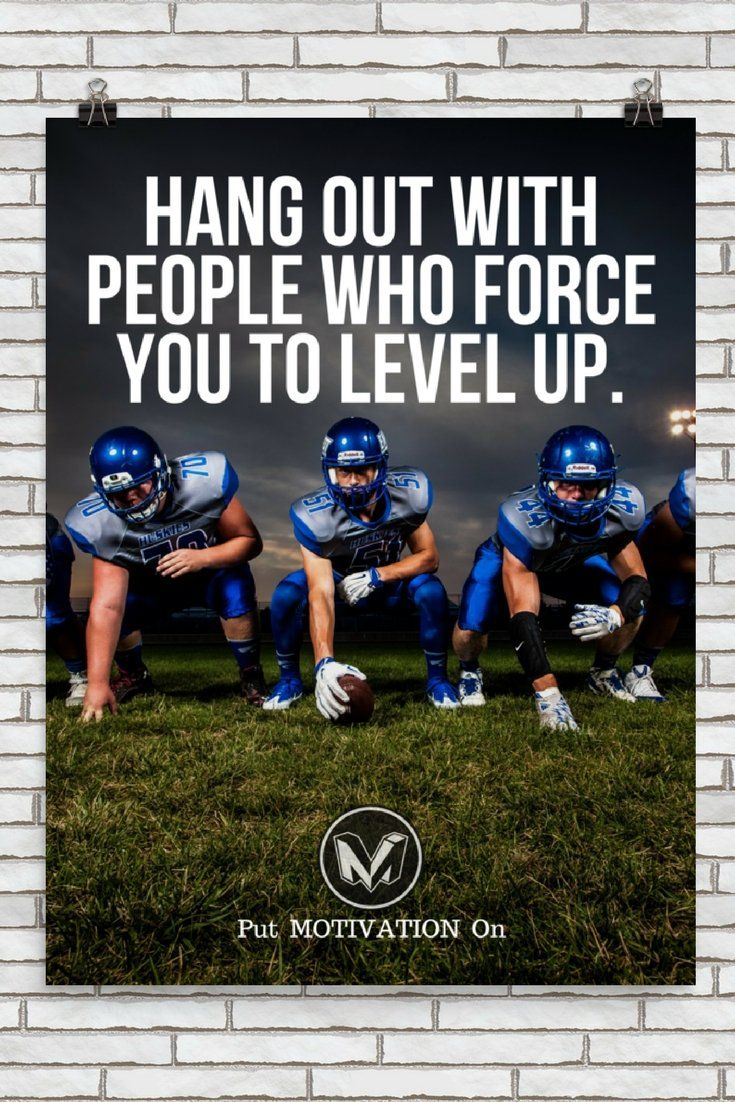 HANG OUT to LEVEL UP | Poster – PutMotivationOn