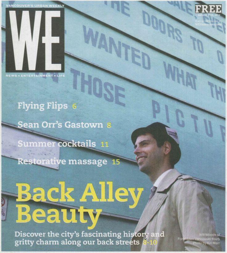 """""""Back Alley Beauty"""" by Kelsey Klassen for Westender (August 9, 2012)"""