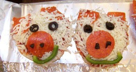 Greatest Resource - Farm preschool lesson plans - Pig Pizza