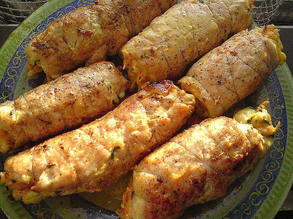 """Куриные рулетики """"Боярские"""" покорят ВСЕХ гостей своим нежным вкусом. Блюдо с изюминкой!"""