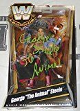 #7: George Steele Signed WWE Classic Legends Action Figure COA The Animal - PSA/DNA Certified - Autographed Wrestling Miscellaneous Items