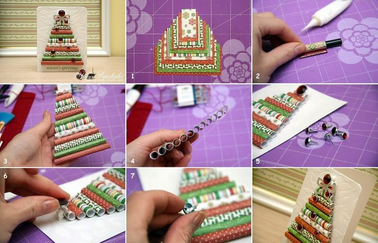 35 mejores imgenes de xmas cards ideas en pinterest tarjeta do it yourself christmas tree card solutioingenieria Images