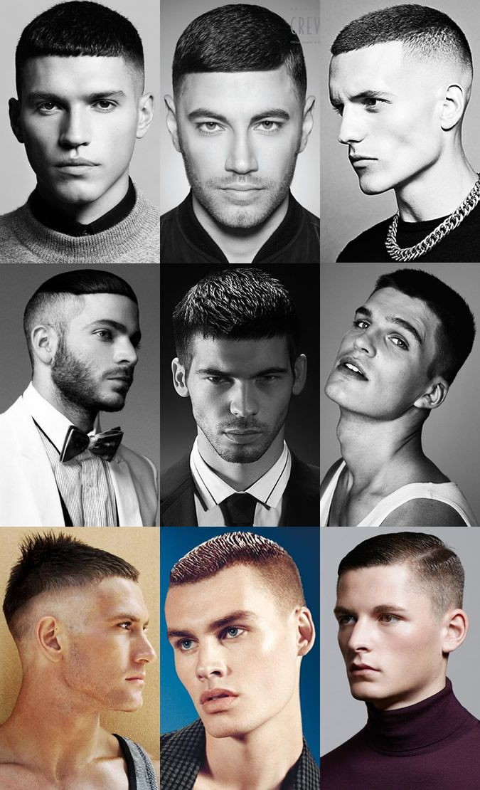 Modern Buzz Cuts/Shaved Head Lookbook