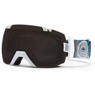 Smith IOX Ski Goggles White Oceanic Blacko