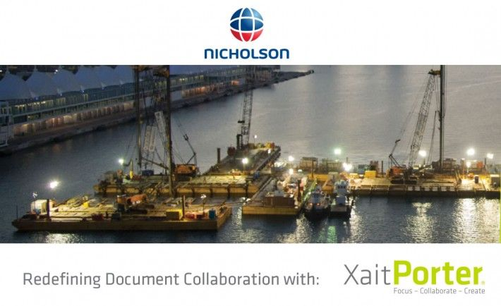 Nicholson Construction signed with Xait