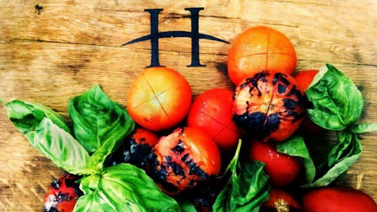 Deliciously roasted tomatoes & basil #tomatoes #basil #HillcrestEstate  http://ow.ly/HdYAe