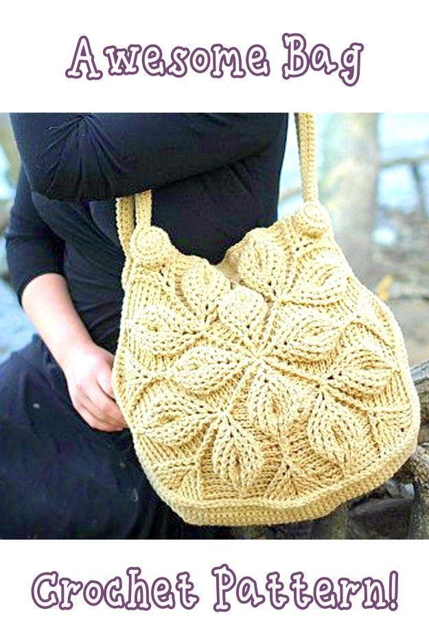 Crochet Bag Roundup Pinterest Crocheted Bags Crochet And Bag