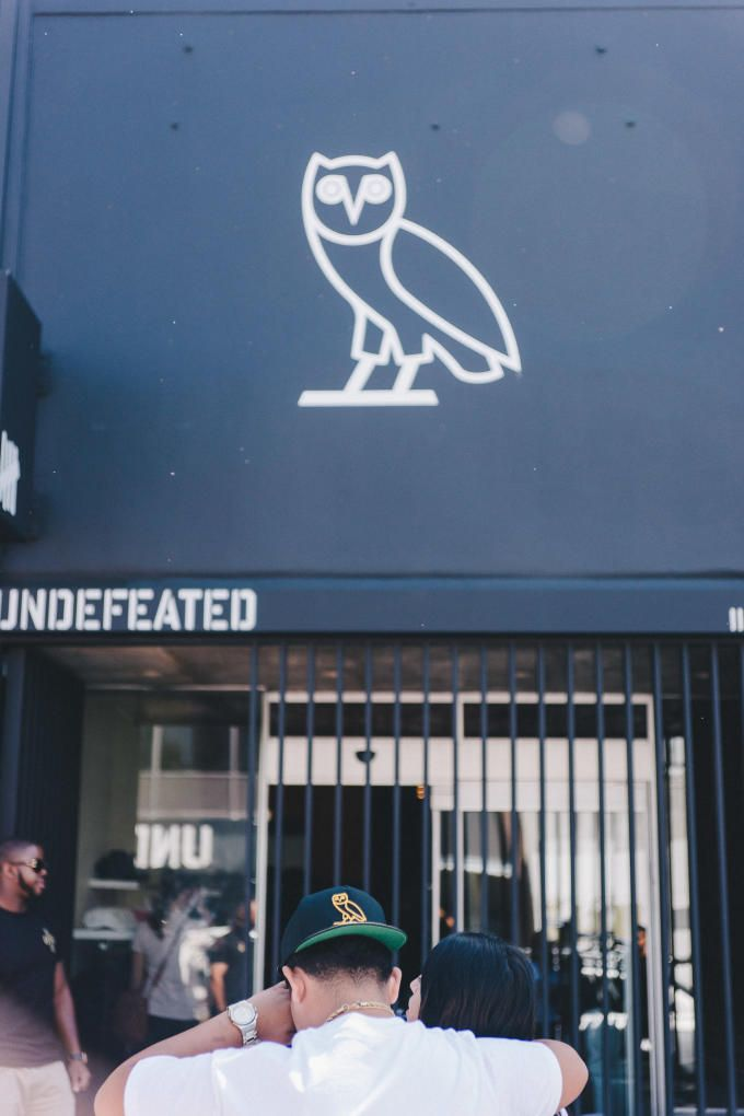 L.A. brought the heat to the OVO pop-up.