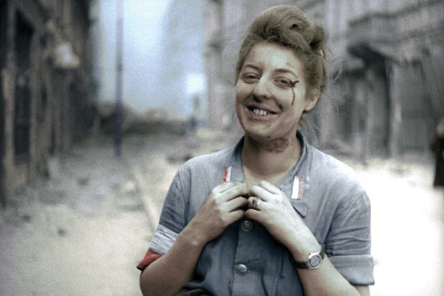 The Warsaw Uprising. brilliant movie! Great picture in the link