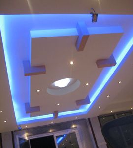 neon false ceiling