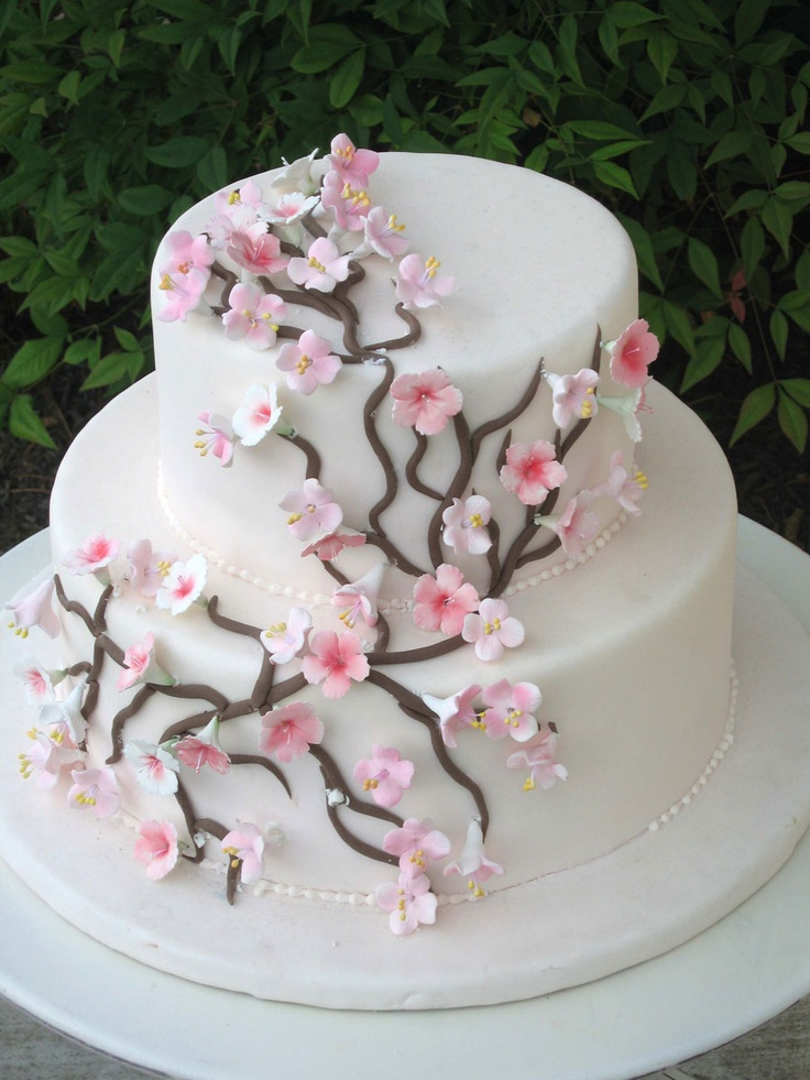 cherry blossom wedding cake photos 16 best floral fantasies images on decorating 12643