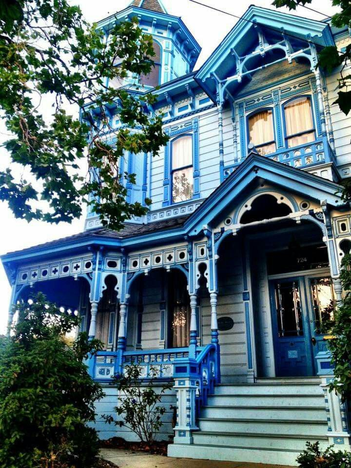 Blue Victorian Bedroom best 25+ victorian homes exterior ideas only on pinterest