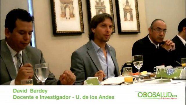 Intervención del Docente e investigador de la Universidad de los Andes, David Bardey.  Diálogos de Futuro, Gestión ética y eficiente.