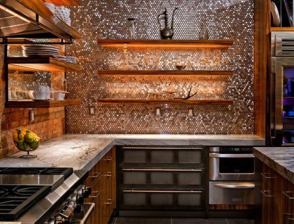Schöne Küchenrückwand - 25 coole Ideen für Ihre Küche