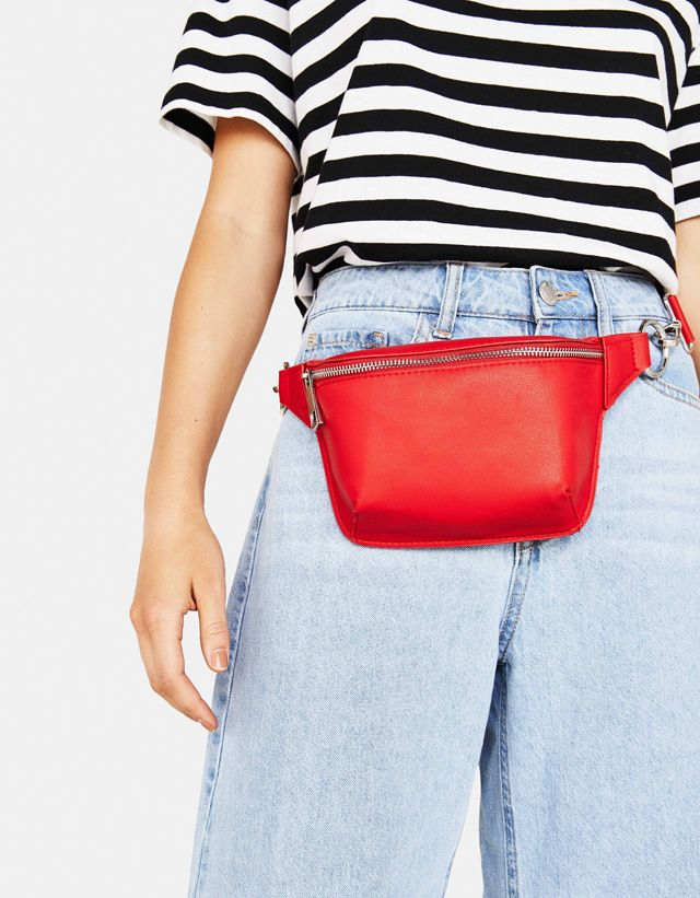 Faux leather belt bag - Bershka  fashion  product  accesories  cool  trend   trendy  young  ss18  new  girl  moda  accesorios  outfit  inspiration   ideas 1f49e695c3991