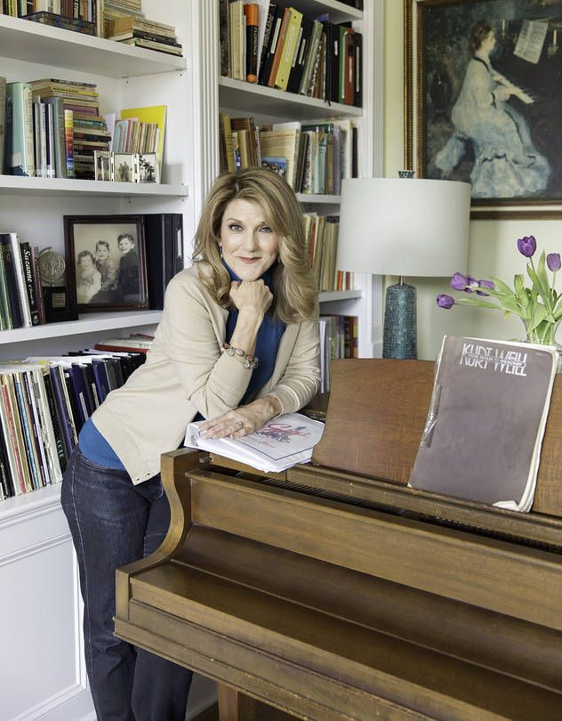 Actress Victoria Clark at her home in Manhattan.