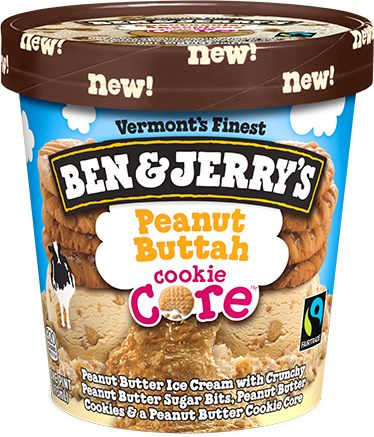 Cookie Cores Ice Cream | Ben & Jerry's!!!!! OMG this is about to make my life!!!