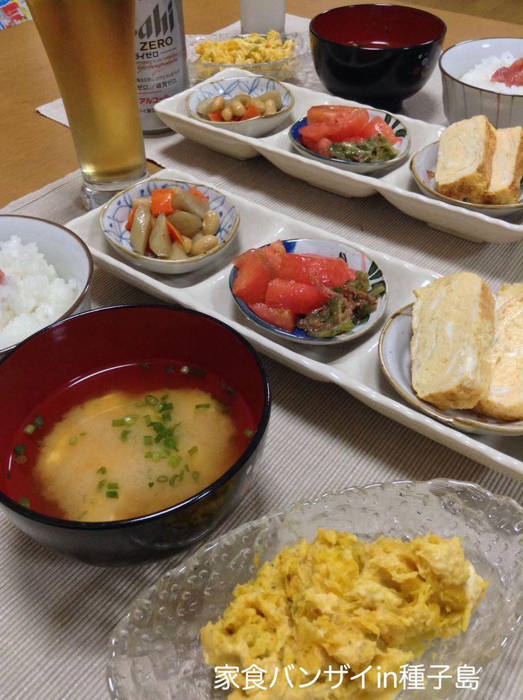 2015/8/4 夕食 あっさり和食