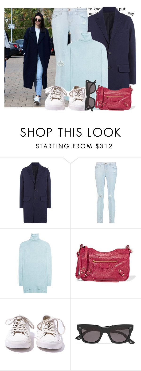"""""""Get the Look - Kendall Jenner..."""" by hattie4palmerstone ❤ liked on Polyvore featuring AMI, Current/Elliott, Balenciaga, Converse, Gucci, converse, gucci, currentelliott and Ami"""