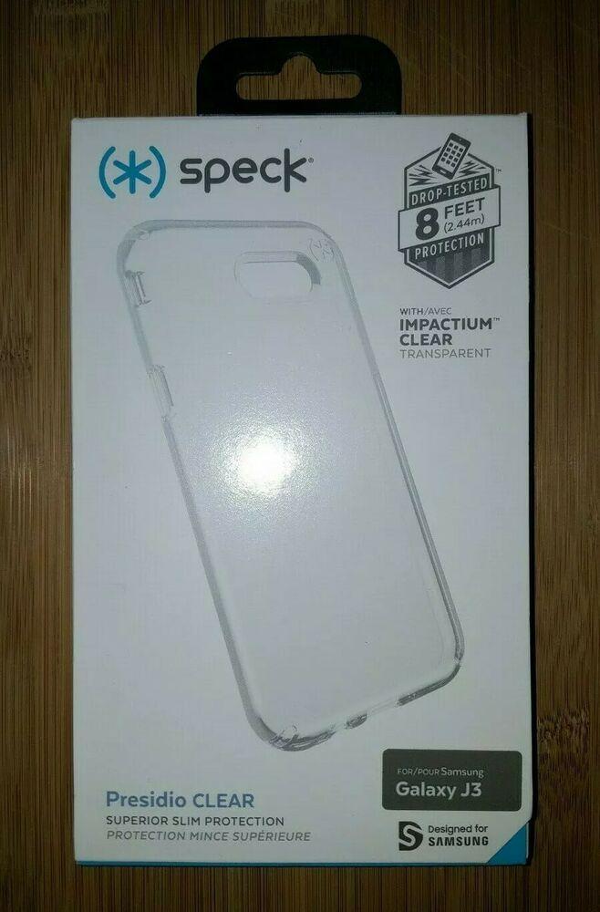 best service 18a8b 9fbf6 NEW Speck Presidio Clear Superior Slim Phone Case for Samsung Galaxy ...