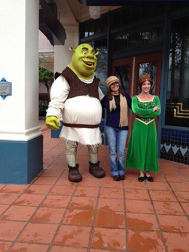 Universal studio Orlando Florida Shrek and Feoina