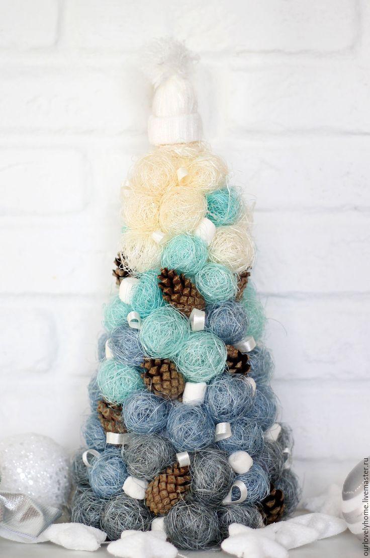 """Купить Новогодняя елочка """"Зефирная"""" - елка, ёлка, елка новогодняя, новогодняя, ёлка новогодняя, елочка"""