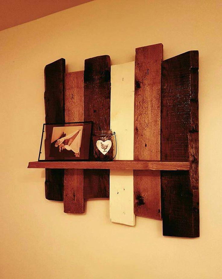 Wood wall deco