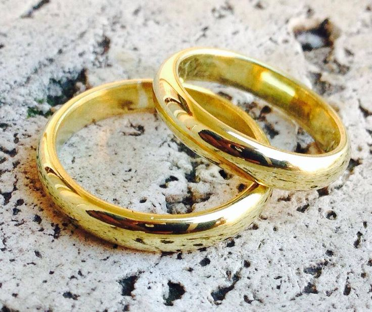 Le Metissage   Gold wedding rings