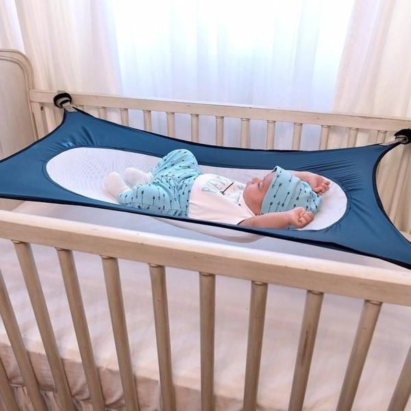 SAY HELLO TO OUR ONE OF A KIND,BABY SAFETY HAMMOCK 35% off - sale ends today!Premium materials & not available in storesUltra-lightweight, ultra-comfortableFREE Shipping and 100% Money-Back Guarantee  *NOT sold in stores- stock is extremely limited. The safest, most natural place to lay your baby down to sleep. Baby Safety Womb Hammock reduces environmental factors associated with Sudden Infant Death Syndrome (SIDS), itcreates the safest environment for your babyto sleep....