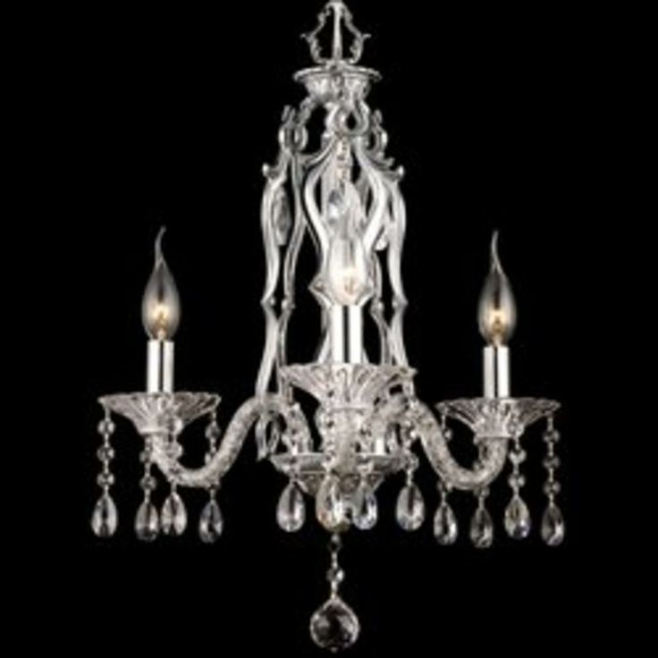Dale Tiffany GH90126 18 Inch By 24 Inch Multicolored Careton Chandelier  With Polished Chrome