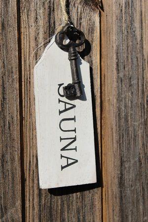 Sauna key