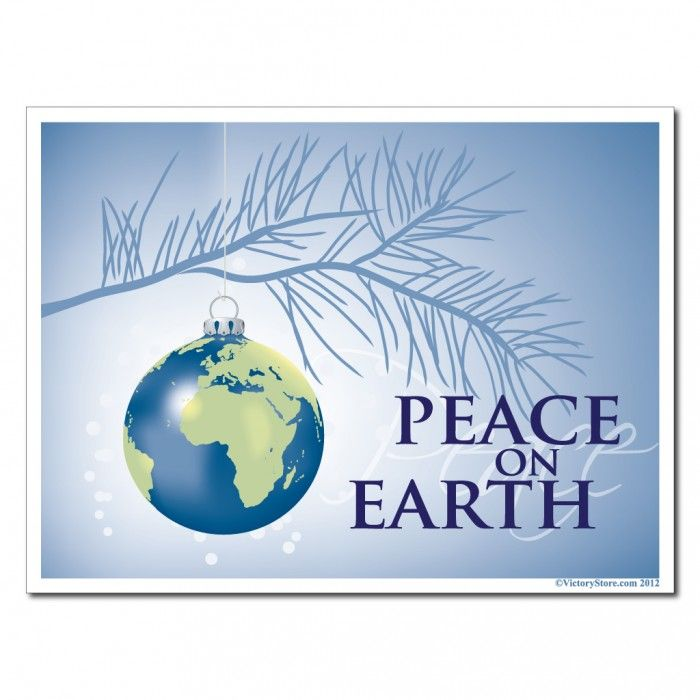 free christmas peace on earth clipart - photo #18
