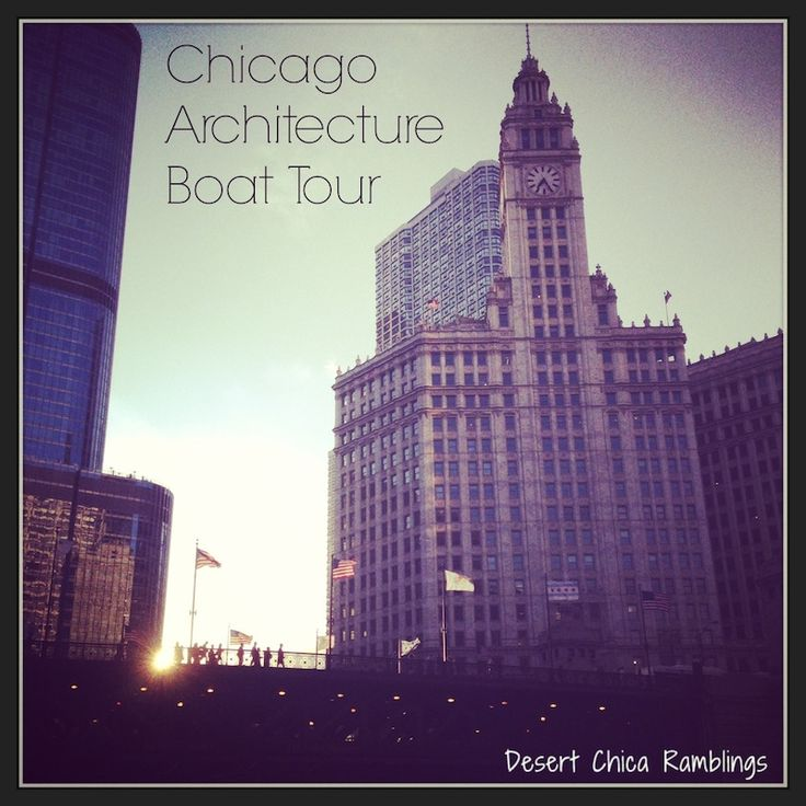 Chicago Architecture Boat Tour - A must do when visiting #Chicago #Travel